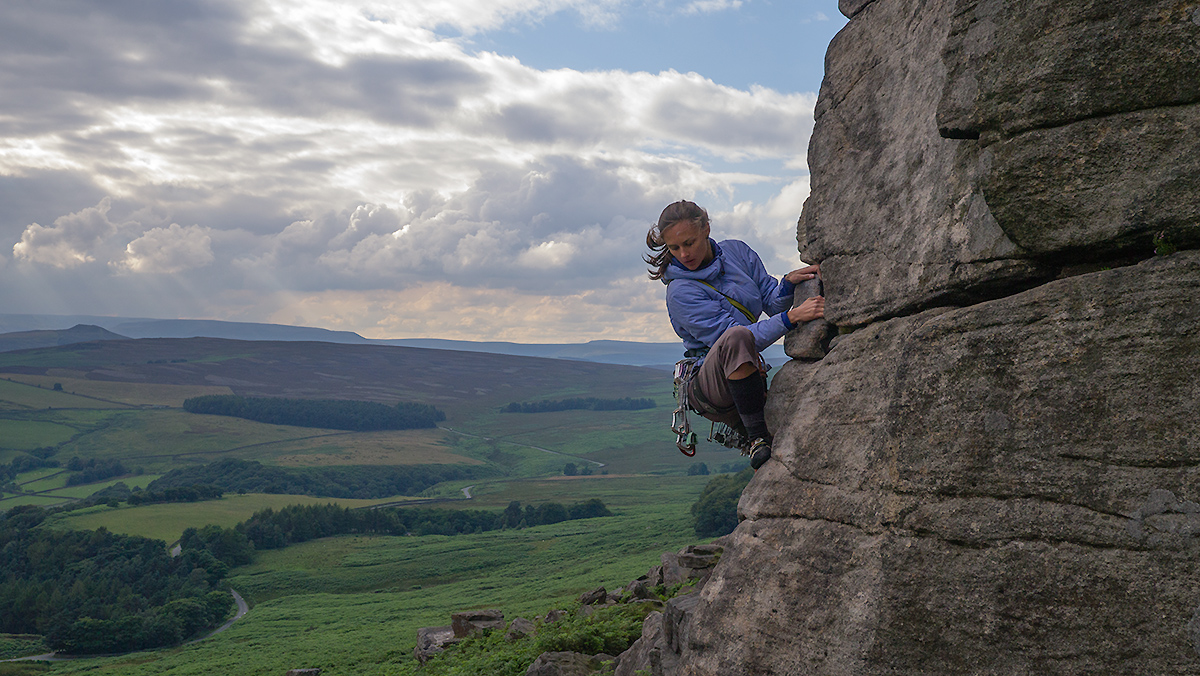 andrea, stanage, unknown route