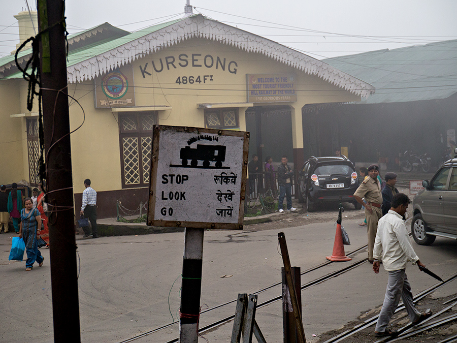 Kurseong Railway Station, 30 km from Darjeeling