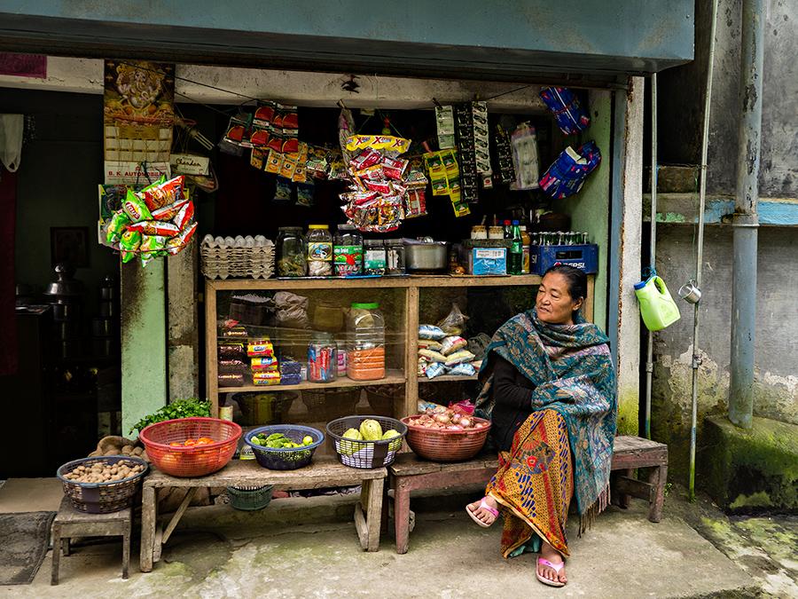 Roadside stall, Tenzing Norgay Road, Darjeeling