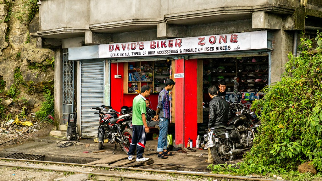 Motorcycle store