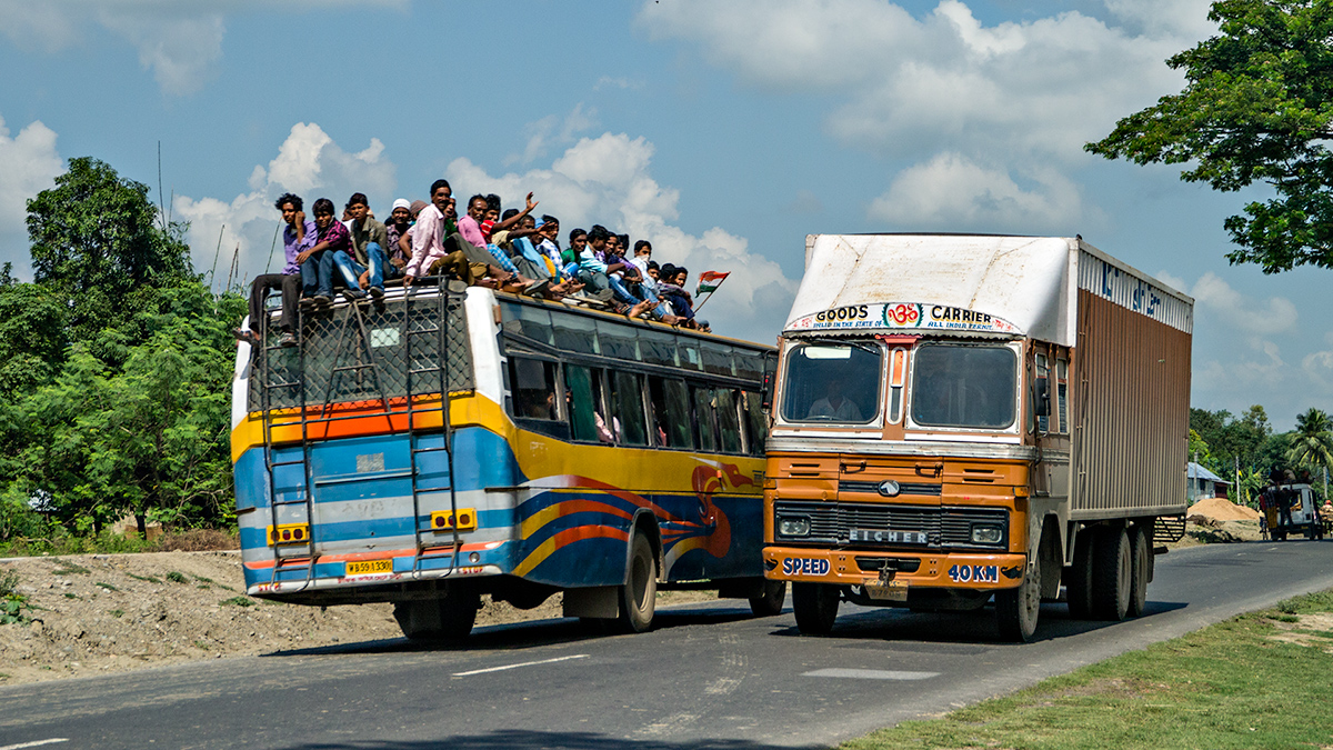 Double-decker bus, Indian style