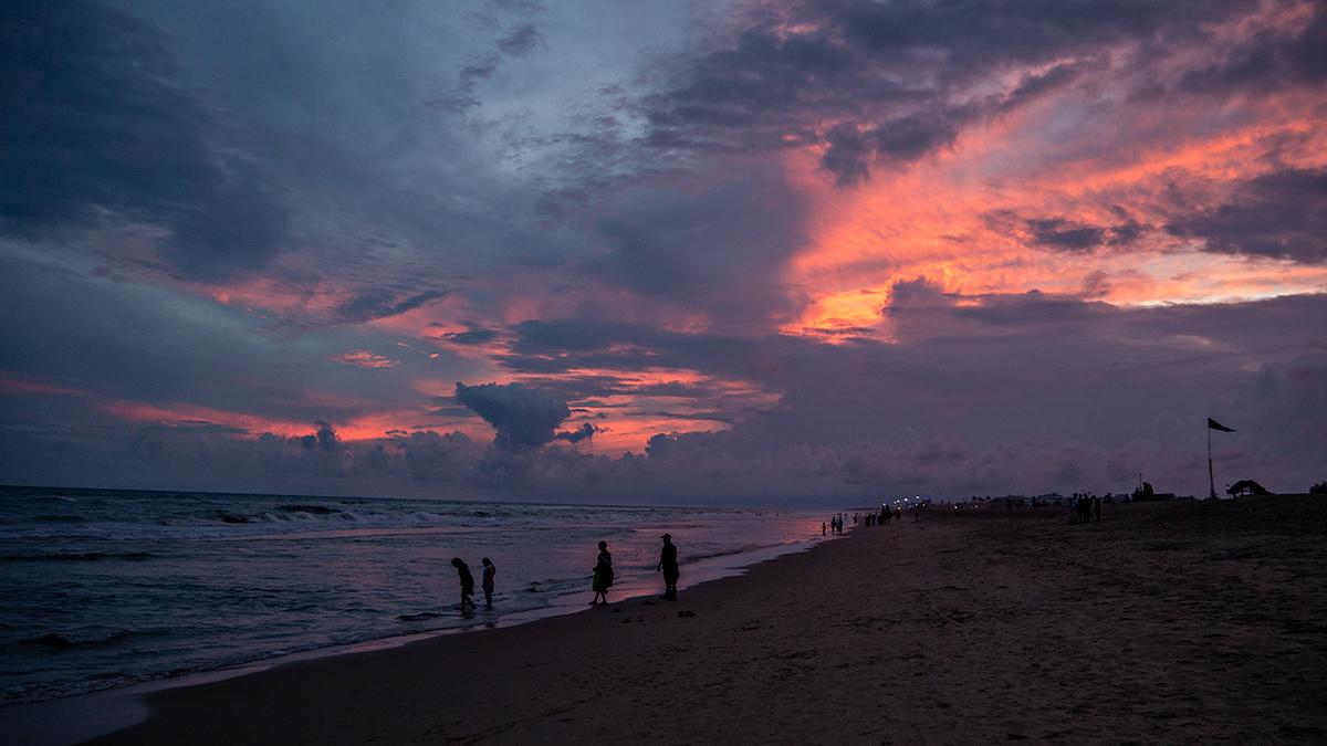Puri Beach, Orissa