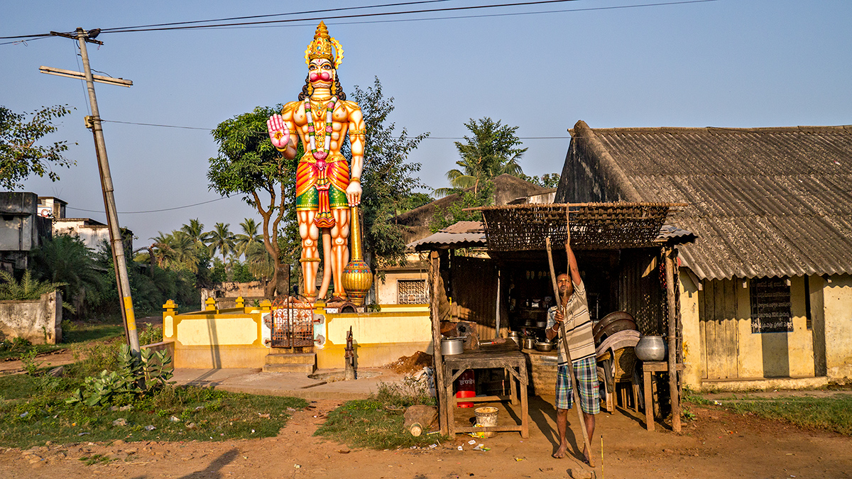 Ichchapuram, early morning