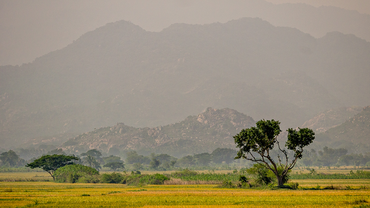 Eastern Ghats from NH5
